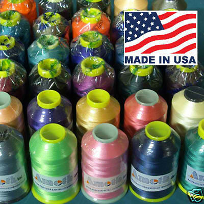30 POLYESTER MACHINE EMBROIDERY THREAD SUPER HUGE 5000m