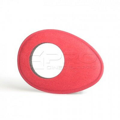 Kamerar Oval Viewfinder Red Eye Cushion for QV-1/M, BMPCC, MagView Viewfinder UK