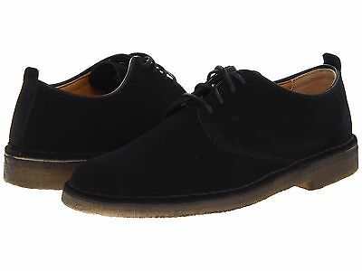 MEN'S SHOES CLARKS DESERT LONDON Suede Lace Up Oxfords 07883