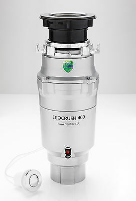 Waste Disposal Unit . PREMIUM PERFORMANCE. ECO CRUSH 400. Free Delivery