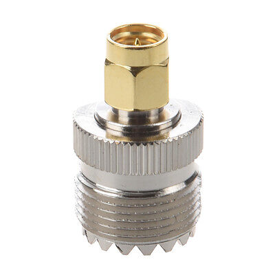 Hot Sale UHF SO-239 SO239 Female to SMA Male Plug Connector Coaxial Adapter S*