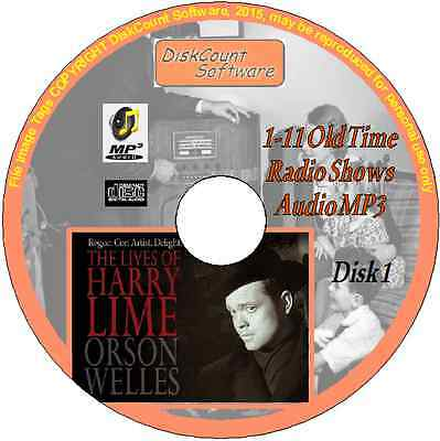 Orson Welles -The Lives of Harry Lime - 11 Old Time Radio Episodes MP3 CD1 Crime