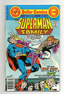 Superman Family Vol 1 No 185 Oct 1977 (VFN) 80 Page Dollar Comic,All New Stories