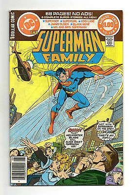 Superman Family Vol 1 No 196 Aug 1979 (VFN+)68 Page Dollar Comic,All New Stories