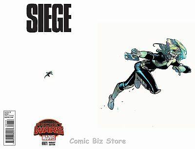 Siege #1 (2015) 1St Printing Scarce 1:15 Bengal Ant-Sized Variant Cover Swa