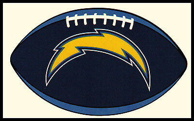 Los Angeles La Chargers Football Nfl Oval Decal Sticker Team Logo~Bogo 25% Off