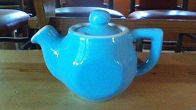 Coors Pottery Chefsware Blue 16 oz Teapot