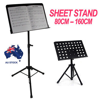 MUSIC STAND Adjustable Sheet Metal Music Conductor Folding Stand