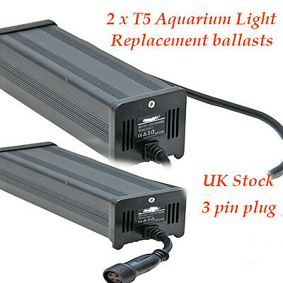 T5 Aquarium Lighting Replacement Ballasts Twin Packs 54W