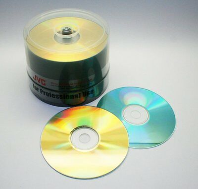 50 x TAIYO-YUDEN CDR80 'Studio Gold' - JVC Mastering LAST BATCH EVER FROM JAPAN