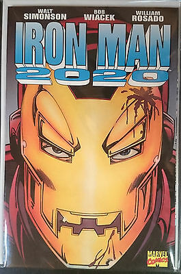 Iron Man 2020 Graphic Novel 1st Print Free UK P&P Marvel Comics Walt Simonson