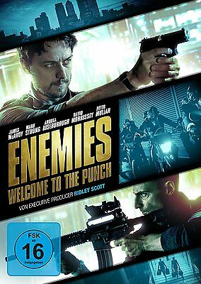 Enemies - Welcome to the Punch (DVD, 2013) NEU + OVP, James McAvoy