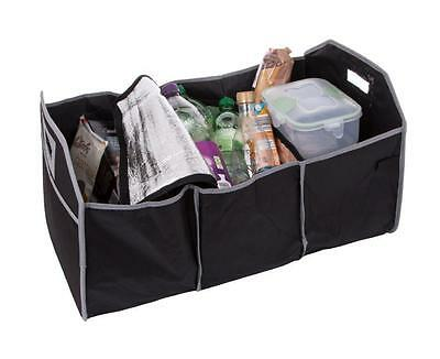 2 IN 1 Car Boot Organiser Shopping Tidy Heavy Collapsible Trunk Storage Bag