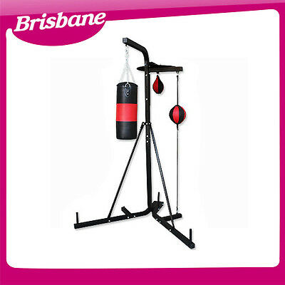 **QLD PICKUP*** Multi Station Boxing Stand with Punching Bag & speed ball