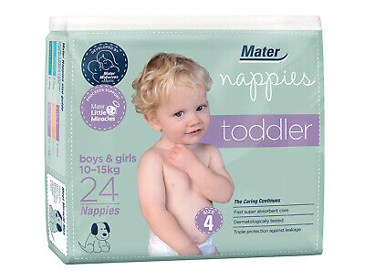 Toddler Nappies 24 pack