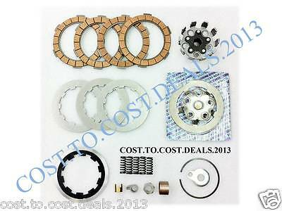 Lambretta GP/SX/LI/TV Clutch Kit 4 Plates- Housing,Flange,Plates,Springs,Corks