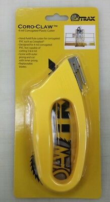 CoroClaw 4 MIL Corrugated Plastic Cutter 4 vinyl signs