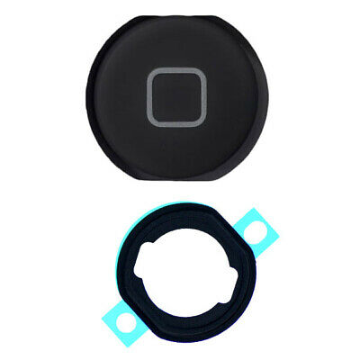 Black Home Button and Grommet Switch Replacement Part for Apple iPad Air 5