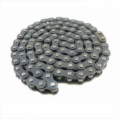 "#40 Roller Chain 5' Section with 2 Connecting Links Go Cart Skooters 1/2"" Pitch"