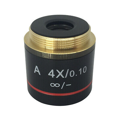 4X Achromatic Infinity Objective Lens for Biological Olympus Infinity Microscope
