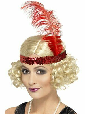1920's Razzle Blonde Charleston Wig Adult Womens Smiffys Fancy Dress Costume
