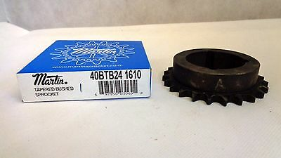 New In Box Martin 40Btb24 1610 Chain Sprocket