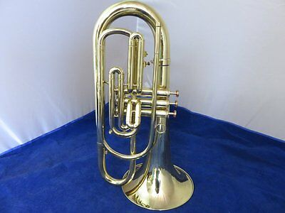 GETZEN MARCHING BARITONE HORN, Bb, COMPLETELY RESTORED!