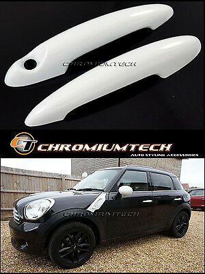 MINI Cooper/S/ONE R50 R52 R53 R55 R56 R57 R58 R59 R61 WHITE Door Handle Covers