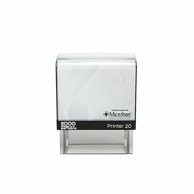 2000 Plus P20 Personalized Custom 3 LINE RETURN ADDRESS Self Inking Rubber Stamp