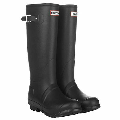 Hunter Original Tall Wellington Wmn's Boots WFT1000RMA Welly Black SZ:5-11 *NIB*