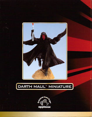 Star Wars: Episode I - Darth Maul Miniature Statuette (1st Edition) Applause