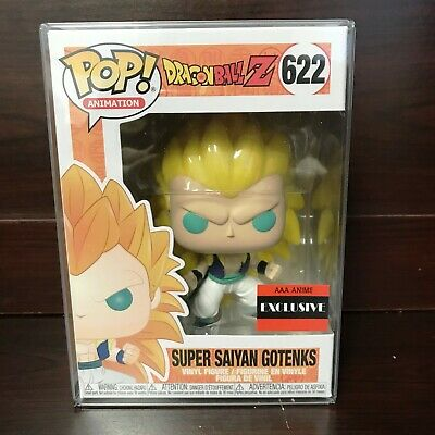 "Funko Pop Dragon Ball Z Super Saiyan 3 Gotenks #622 Vinyl AAA Anime ""MINT"""