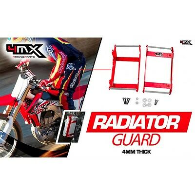 Protections Radiateurs Honda Crf 250 2014-2015 -2016 Rouge