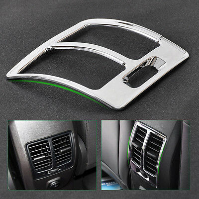 Chrome Rear Air Conditioning Vent Trim Cover Frame For Ford ESCAPE KUGA 2013-15