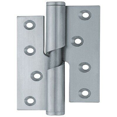 Stainless Steel Internal Rising Butt Hinge Pairs (2) Left & Right Hand 102x76mm
