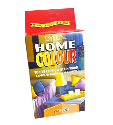 Dylon Fabric Stain Wood Hand Dye Home Colour Saffron Dying Colours Stains
