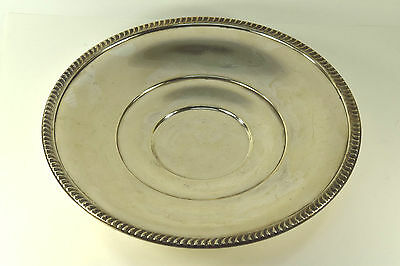 Antique Sterling Silver Footed Cake Plate 1529 by Mueck-Cary