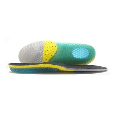 Gel Orthotic Foot Sport Running Insoles Insert Shoes Pad Arch Support Cushion