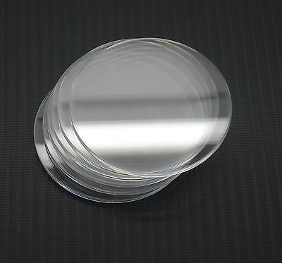 3mm Acrylic/Perspex Discs - ALL SIZES - Extruded or Cast - FREE CUSTOM SIZES CUT