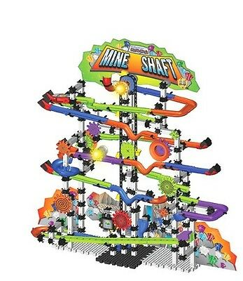 New NIB The Learning Journey Techno Gears Marble Mania Mine Shaft 2.0 Game Toy