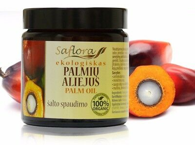 Palm Oil 100 ml / 3.6 oz | Pharmaceutical Grade 100% Pure Organic Undiluted