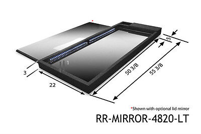 NEW Race Ramps RR-MIRROR-4820-LT Lighted Mirror