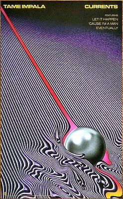 TAME IMPALA Currents 2015 Ltd Ed New RARE Poster +FREE Psych/Rock/Indie Poster!