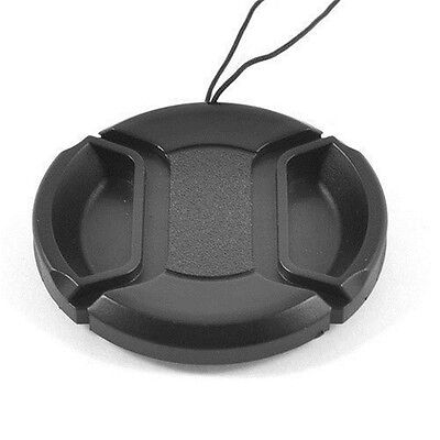 72mm Front Lens Cap Hood Cover Snap-on for Canon Sony Olympus Nikon Camera New