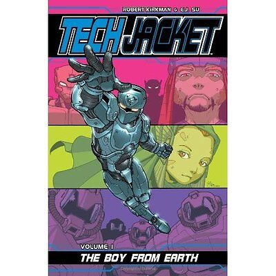 Tech Jacket Boy from Earth v. 1 Kirkman Su Graphic novels Image C. 9781582407715