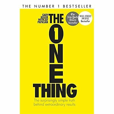 The One Thing Keller, Papasan John Murray Publishers Ltd PB / 9781848549258