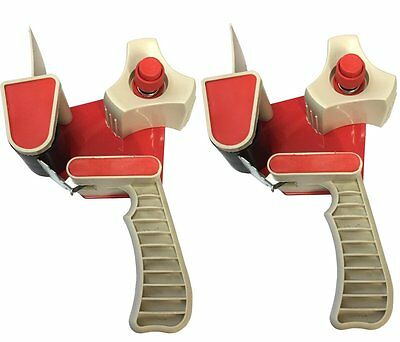 (PACK OF 2) Parcel Tape Dispenser Gun - Packaging Tape Dispensing Guns