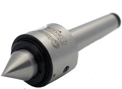 #2 Morse Taper Heavy Duty Live Center MAX Weight 600lb 60°Point Skoda Brand
