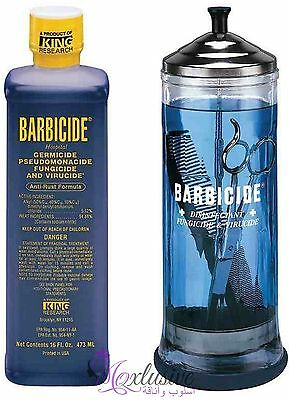 Barbicide disinfectant Solution for Salon, Spas, Medical, Athletics Tools- 473ml
