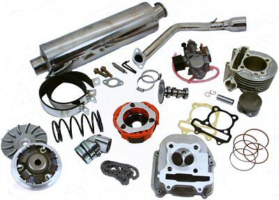 HOCA 172cc 61mm Big Bore Engine Kit for 150cc GY6 Chinese Scooters, ATVS, KARTS